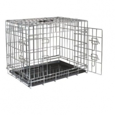 Pet Kennel Light Weight Line - Silver