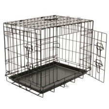 Pet Kennel Extra Strong Line - Black